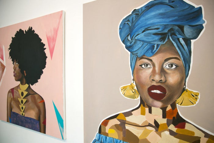 The Black Blossoms exhibition, created by Bee Tajudeen, is a platform where black art can be seen and celebrated. If you want to know more about Black Blossoms, check out this article.