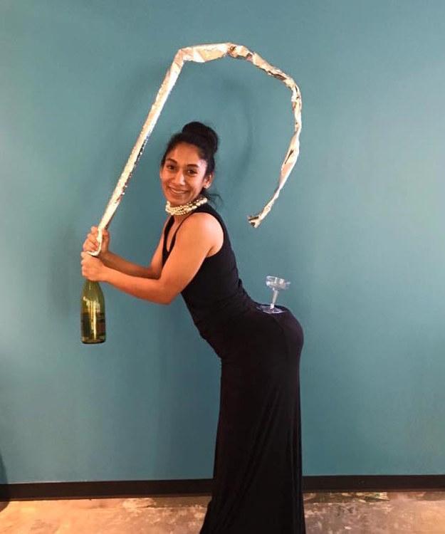 Kim Kardashian and champagne: