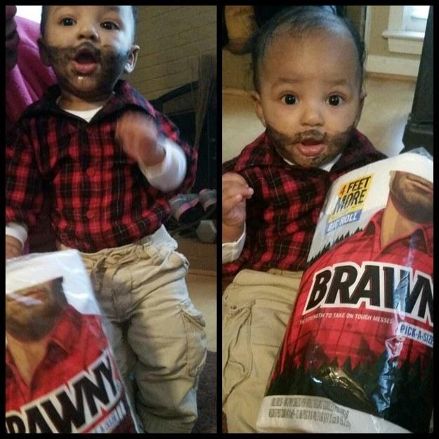 The Brawny Man: