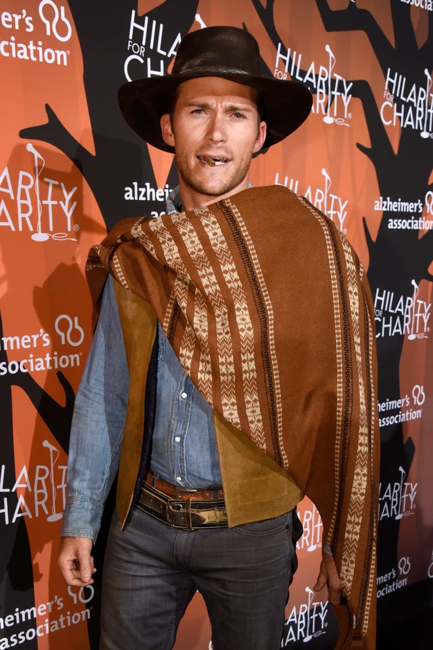 And even though he had the unfair advantage of genetics on his side, Scott Eastwood arguably had the best costume of the night: