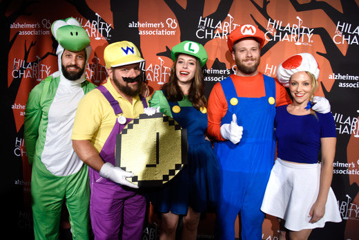 Over the weekend, stars dressed up in their Halloween-best and attended Hilarity For Charity's 5th annual variety show to raise money for the Alzheimer's Association.