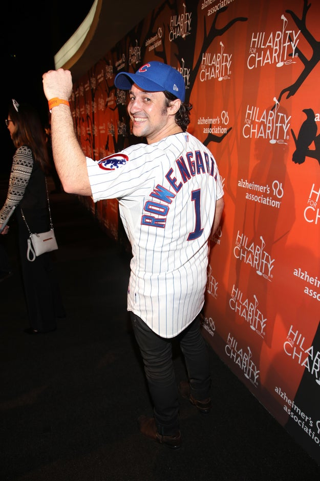 ...Thomas Ian Nicholas, aka Kevin from American Pie, dug into the past and dressed up as his character from the '90s classic Rookie of the Year.