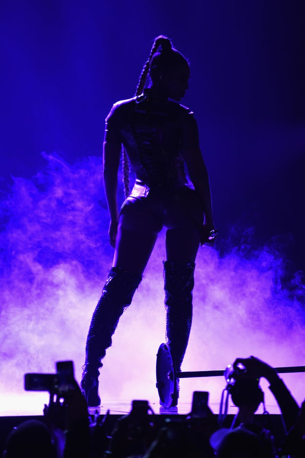 Look at how it elevated her already-sickening silhouette.
