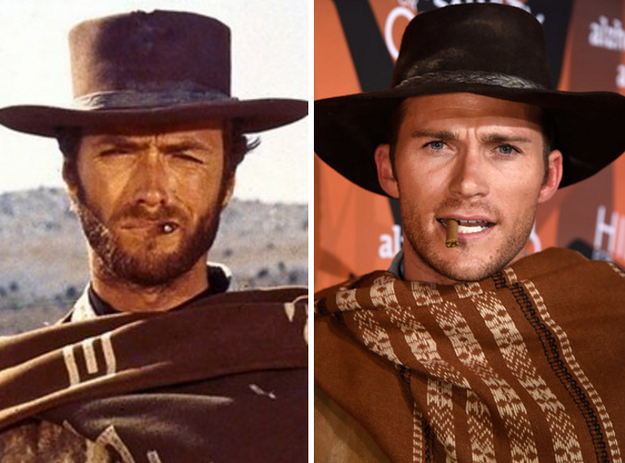 Along with Scott Eastwood channeling his father, Clint Eastwood...