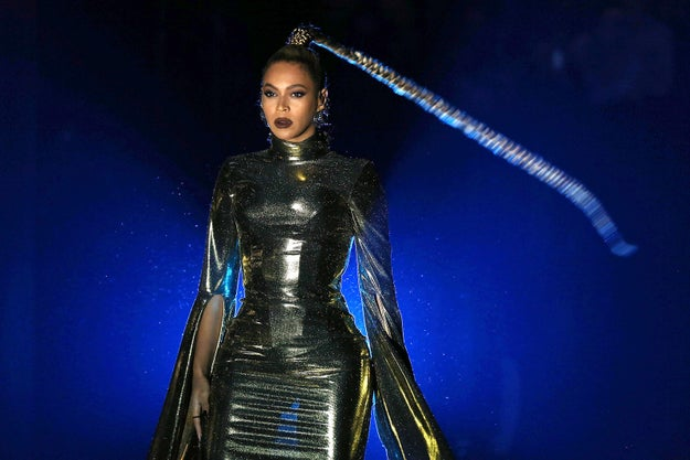 Every time it swung around I felt like Beyoncé was going to reveal that X-Men are real and she is their one, true leader.