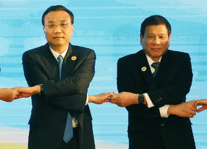 The trip is intended to boost trade ties and attract more investment from China.
