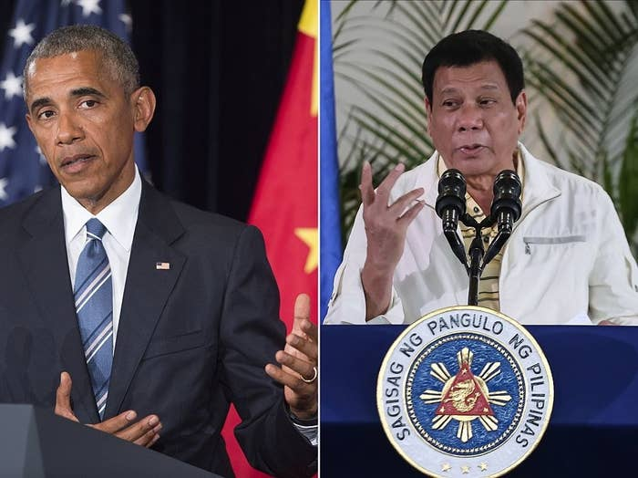 """Since Duterte took office in the end of June, ties between Manila, a long-time ally of the US in the region, and Washington have deteriorated. Among the highlights are when Duterte openly called Obama a """"son of a whore,"""" when he compared himself to Hitler, and his ongoing draconic crackdown on drugs that has left more than 3,600 people dead, nearly half of them killed by vigilante groups. The Philippines is considered key to the Obama administration's """"pivot to Asia"""" strategy, but human rights groups have started calling for an end to the millions of dollars given away in anti-drug aid."""