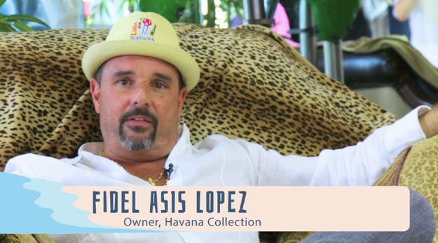 They stopped by Havana Collection, where store owner Fidel Asis Lopez helped the Try Guys get just the right look to take on the Little Havana scene.
