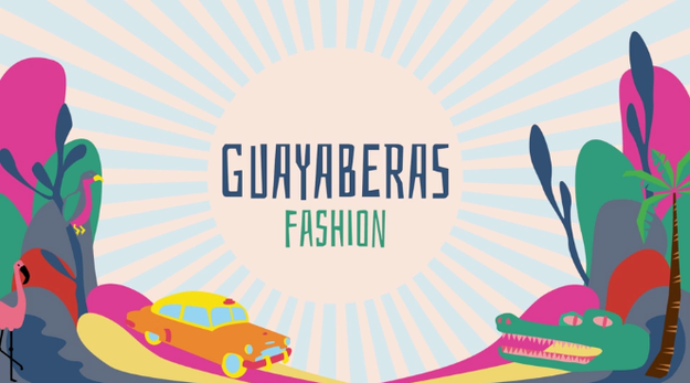 The first order of business was making sure the guys were doing Miami in style. So, naturally, they went to try on guayaberas, a traditional staple in any Cuban man's wardrobe.