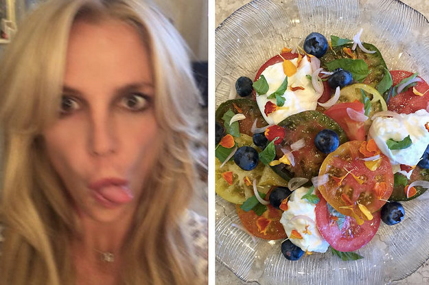 This Salad Britney Spears Just Posted To Instagram Is ...