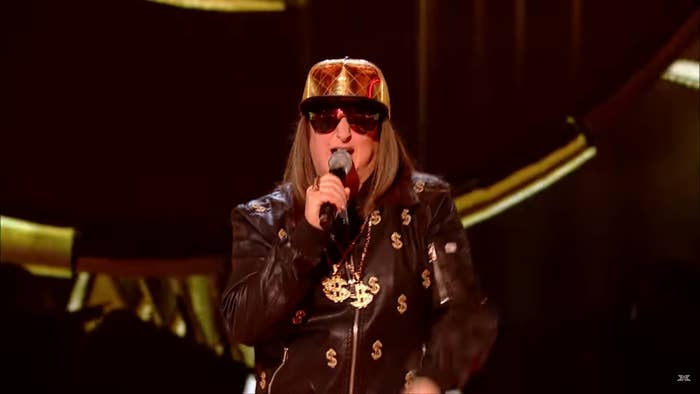 "03e8684442d This season of The X Factor features a rapper under the stage name of ""Honey  G"". She s from Harrow"