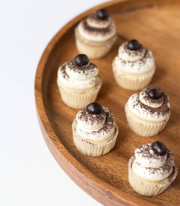 Tiramisu Mini Cupcakes