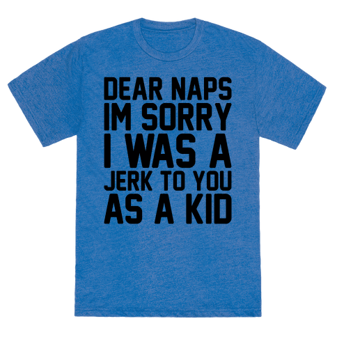 A tee that understands your grown-up regrets.