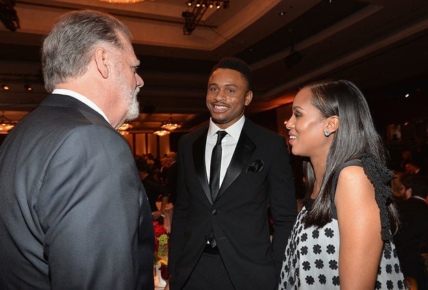 Kerry and husband Nnamdi Asomugha, a former football player, have been married since 2013.