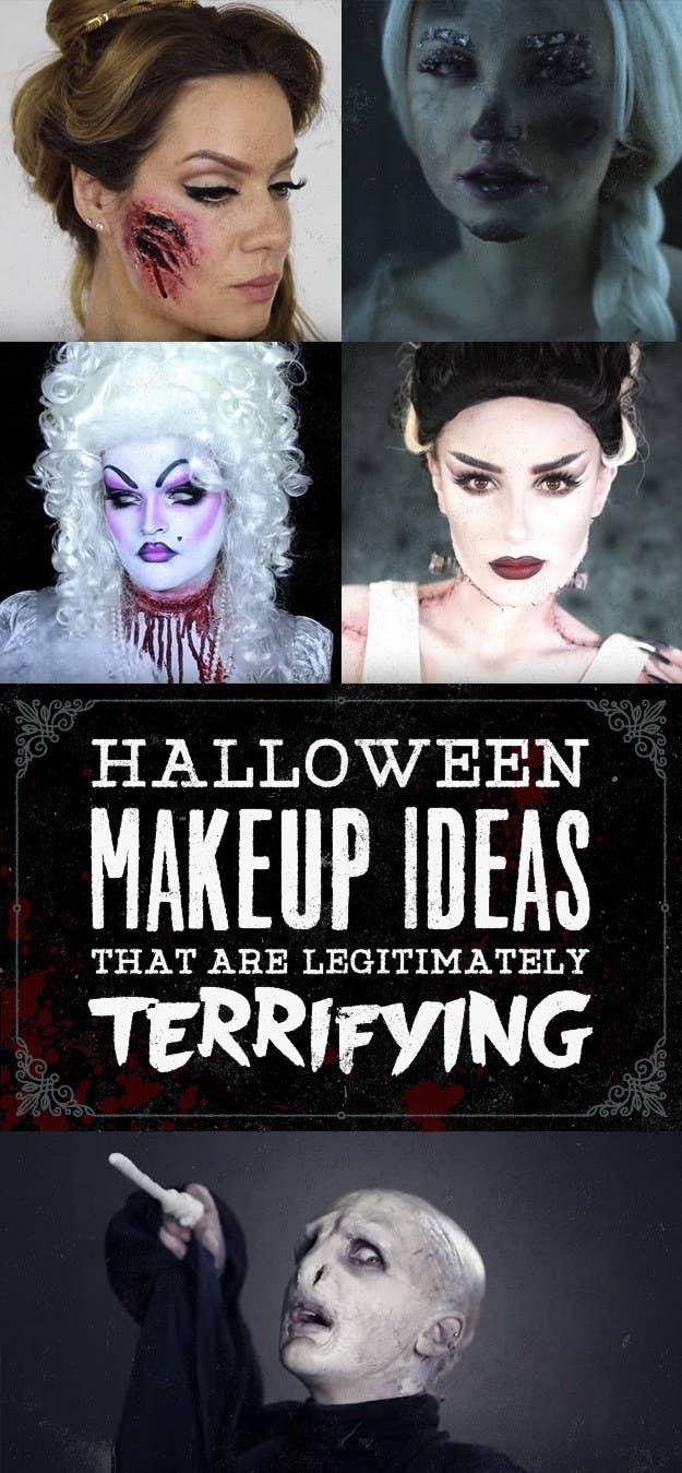 25 Halloween Makeup Ideas That Are Legitimately Terrifying