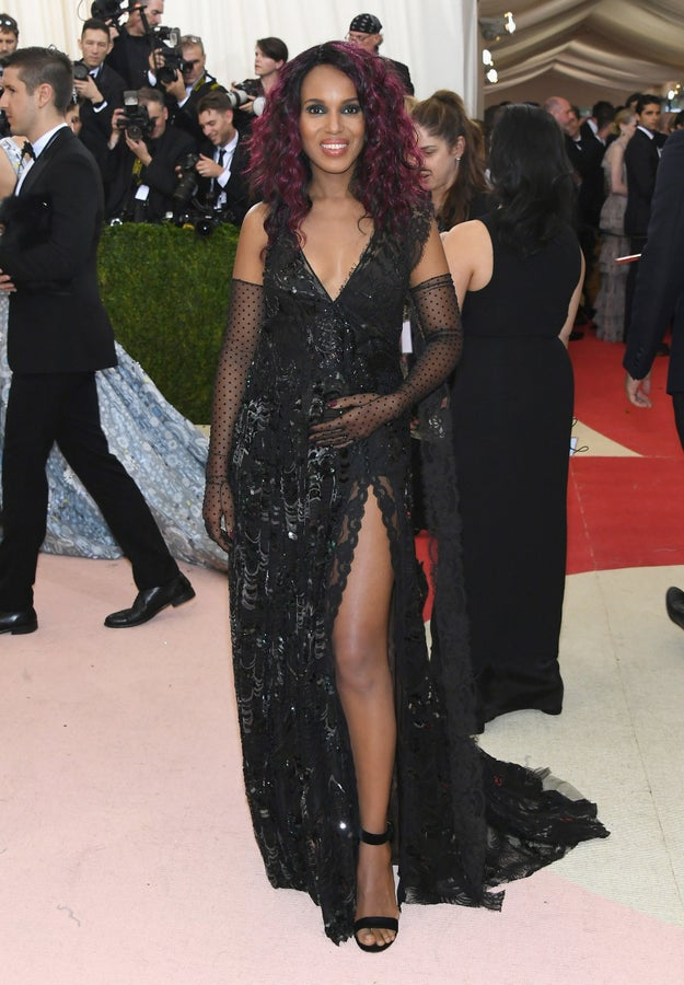 And who can forget when she didn't let her pregnancy hold her back from embracing the Met Gala's punk theme?!