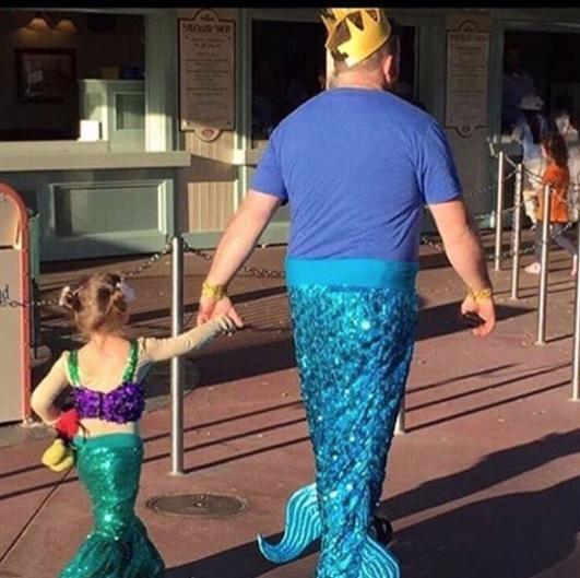 Este pai que garante que todo dia seja mágico.