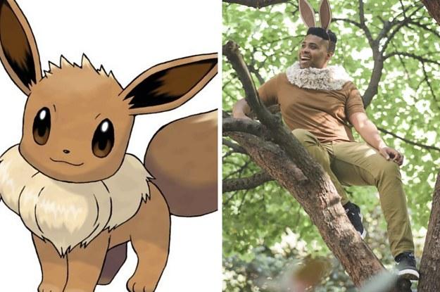 Here\'s An Easy Eevee Costume Anyone Can Make