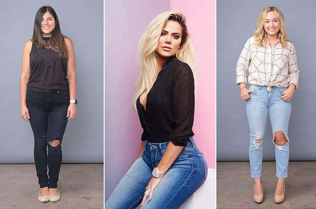 We Tried Khloe Kardashian 39 S New Body Inclusive Jeans And Here 39 S How They Fit
