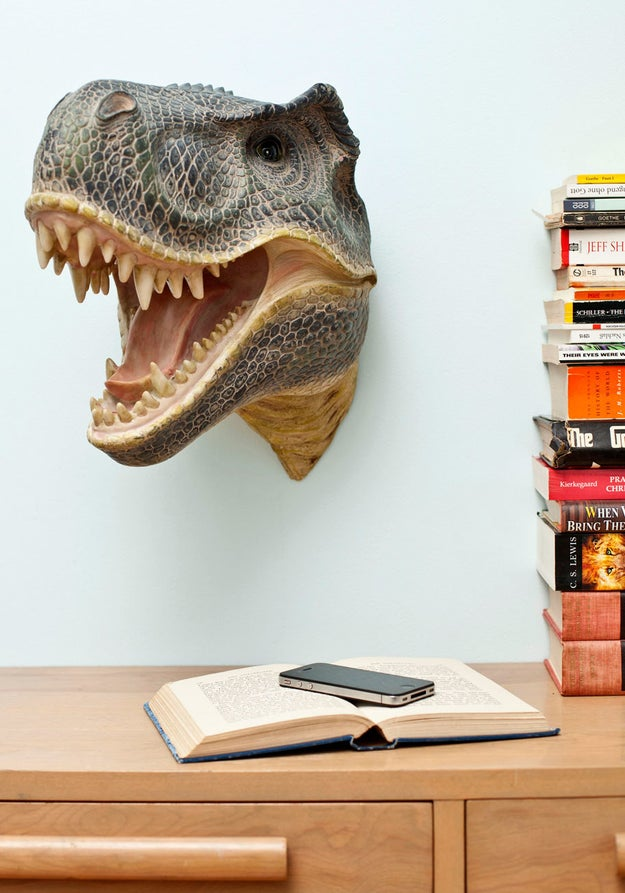 Wall decor for anyone who has practically every word of Jurassic Park memorized.