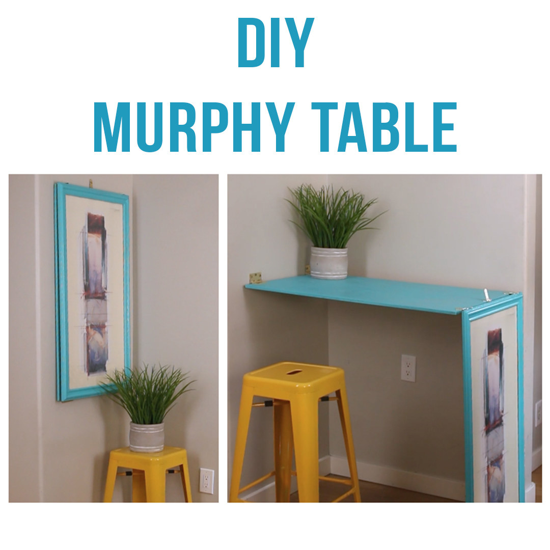 Bon This DIY Turns Wall Art Into A Table