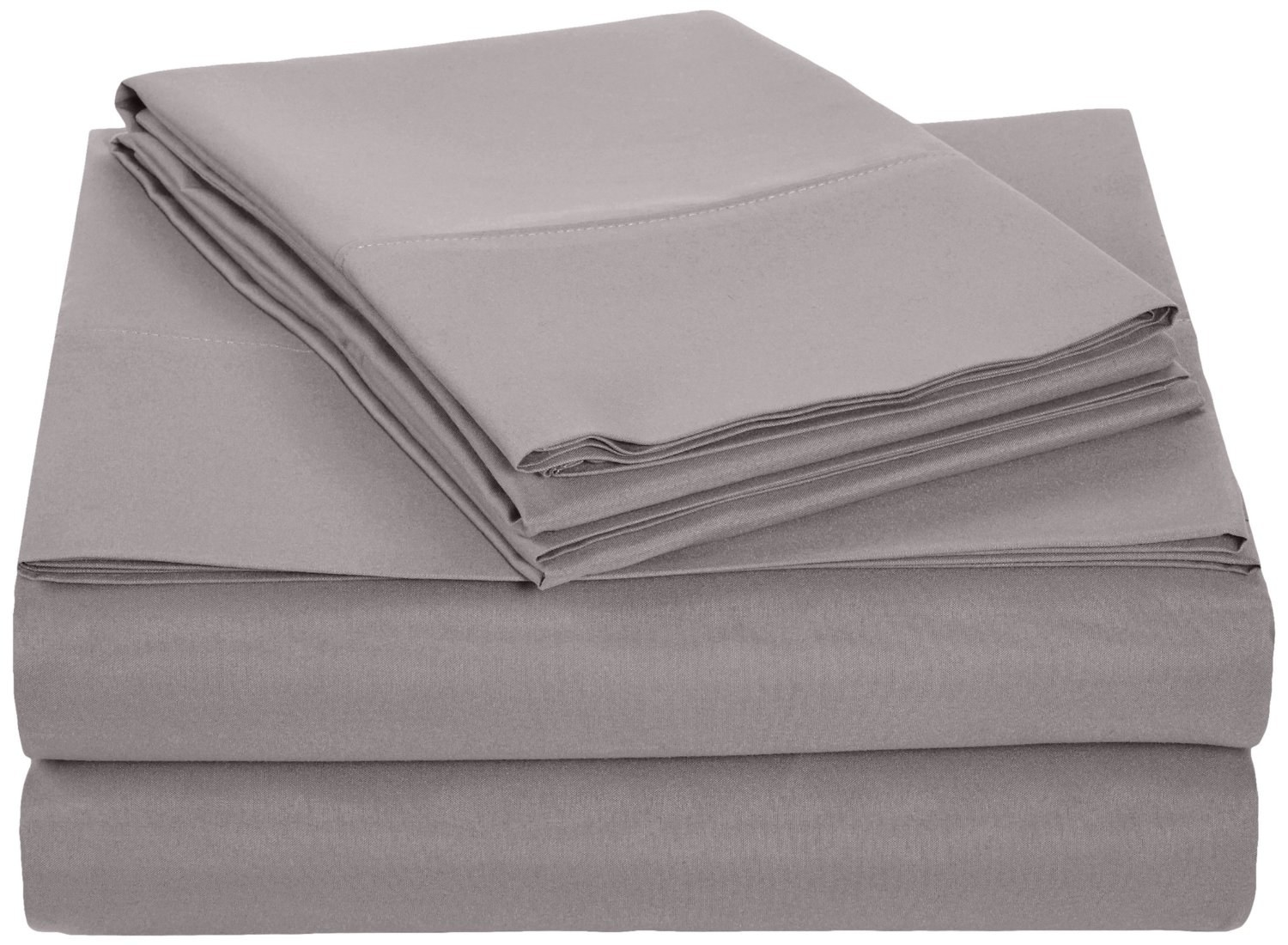These AmazonBasics Microfiber Sheet Sets That Feel The Way Nutella Tastes.