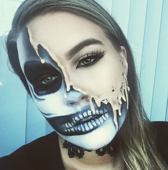 23 Jaw-Dropping Halloween Costumes Made Literally Only With Makeup