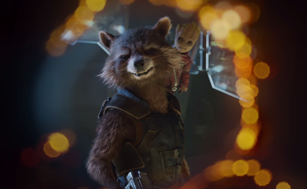 It features, among other things, Baby Groot – or Toddler Groot – in a TINY STARLORD JACKET!!!!