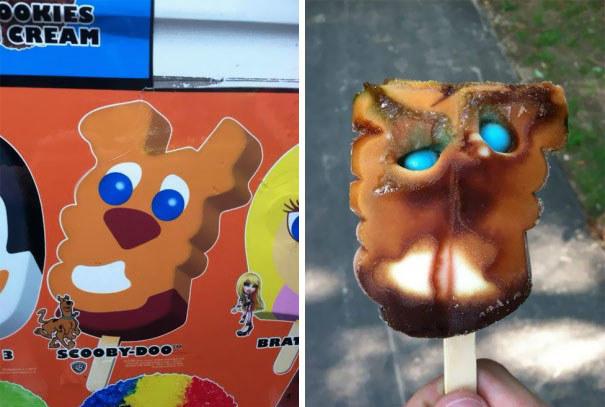 Cet esquimau d&horreur.