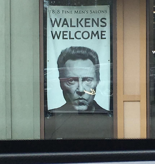 The Monument to Walken will be on display in Queens, NY until March 13th.