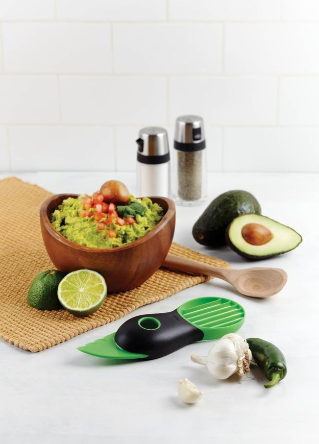 A three-in-one avocado tool that means you'll get every morsel out of that expensive avocado.