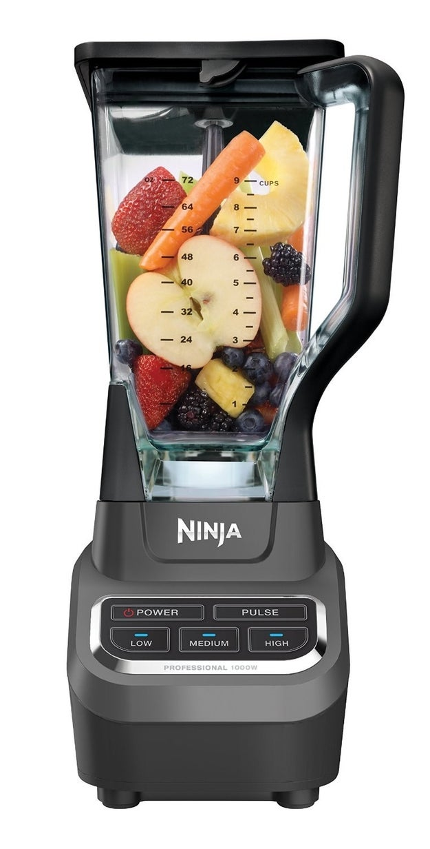 A Ninja blender that'll change your smoothie and hummus game.