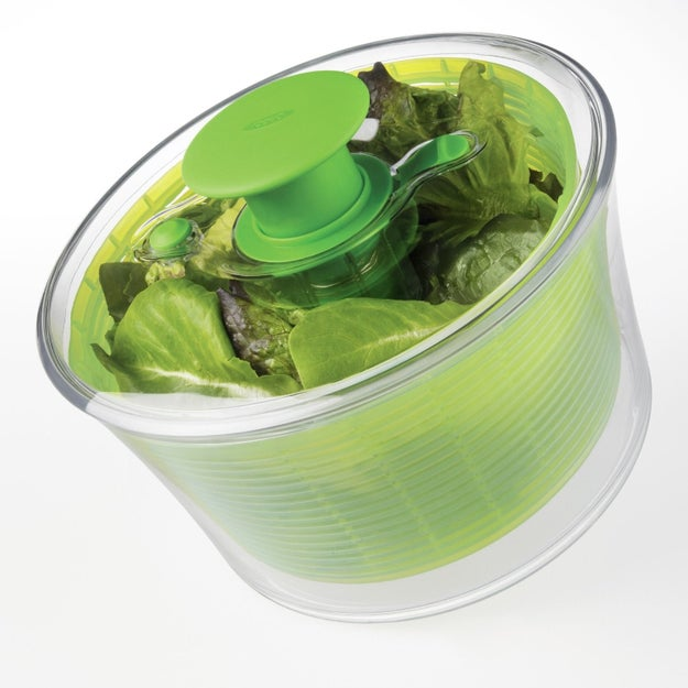 A salad spinner that will lit'rally change the way you eat leaves.