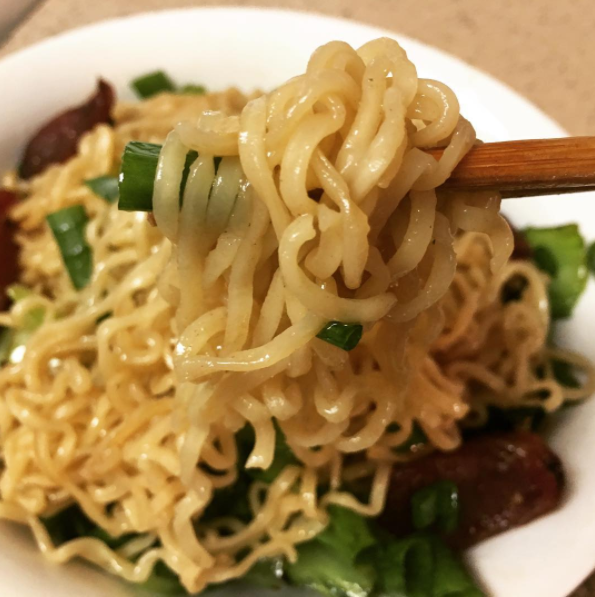 Flavor your ramen with soy sauce and garlic powder instead of the included packet.