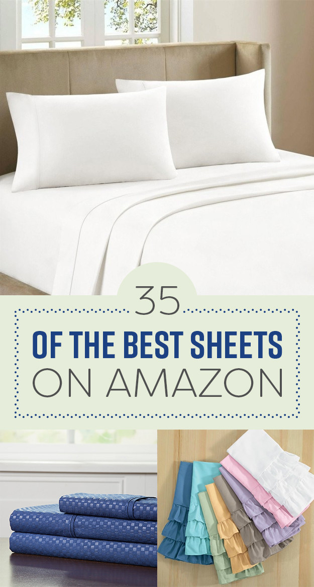 35 Of The Best Sheets You Can Get On Amazon