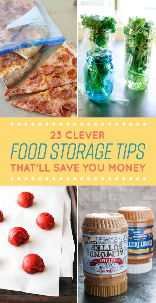 Clever Ways You Should Have Been Storing Your Food