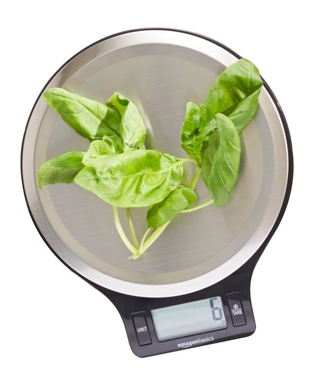 A kitchen scale that will make all your recipes more exact.