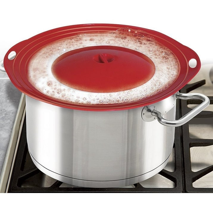silicone pot lid