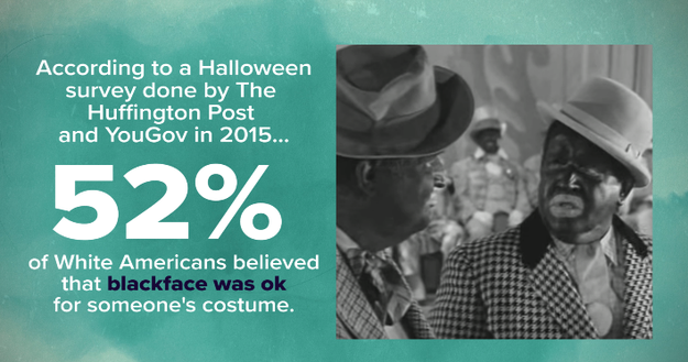 And even though it's 2016, Halloween seems to make history repeat itself.