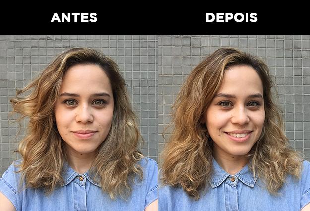 """""""Achei bem parecido com o efeito de uma máscara transparente de sobrancelha"""" - Suria Rodrigues"""