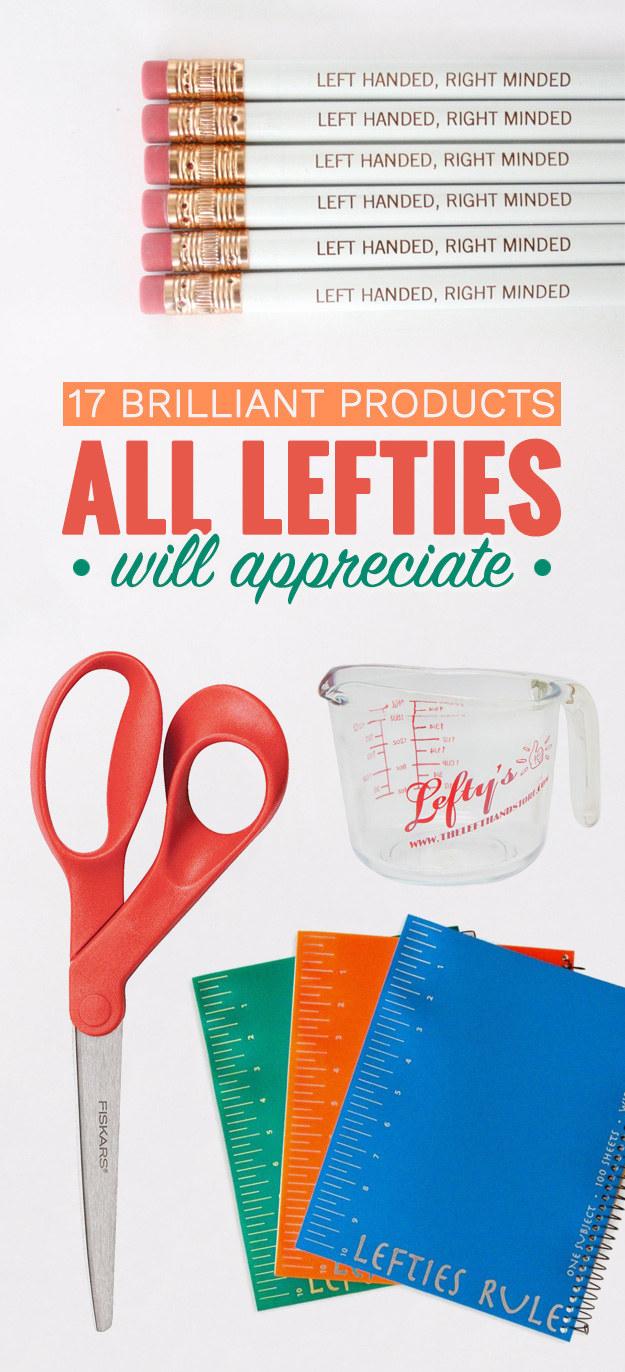 17 Brilliant Products All Lefties Will Appreciate