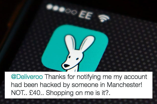 All These People Say Their Deliveroo Accounts Have Been Hacked