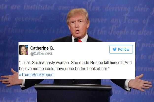 Twitter erklärt Literaturklassiker durch die Augen von Donald Trump