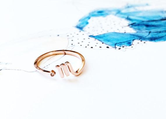 Golden Scorpio Ring