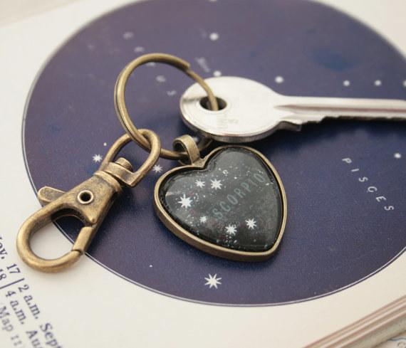 Scorpio Key Chain