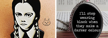 19 Essential Items For People Who Are Basically Wednesday Addams