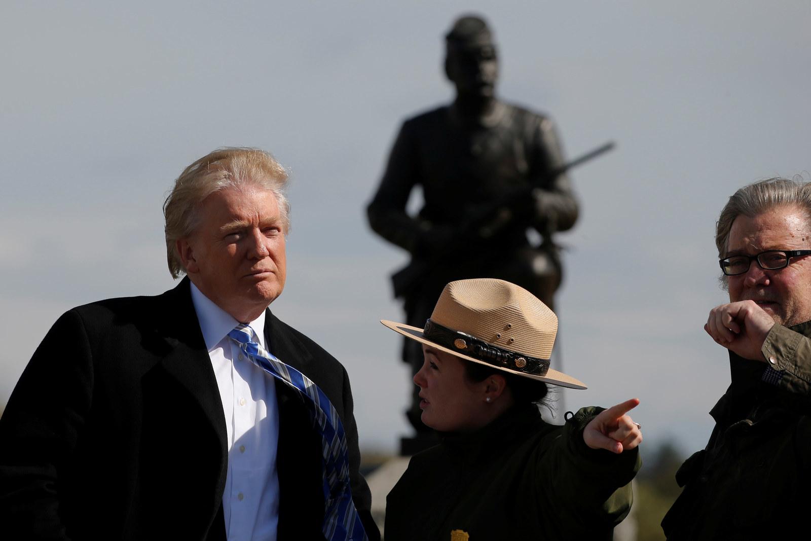 """In """"Closing Argument"""" Speech, Trump Focuses On Grievances"""