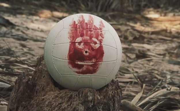 Wilson the volleyball in Cast Away