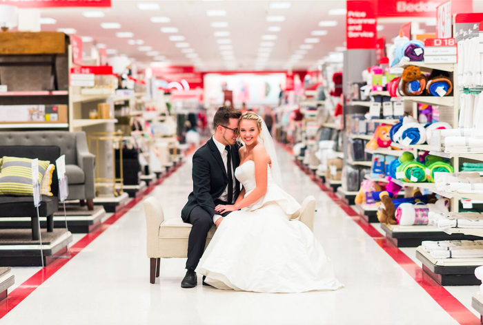 """""""They sent someone around to all the aisles to make sure they were clean and tidy, and they were blocking off people from getting in the shot,"""" he said."""