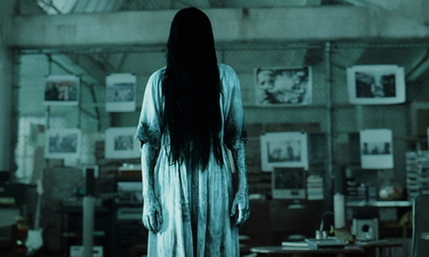 The creepy girl from The Ring